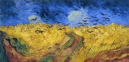 Vincent van Gogh | Wheat Field with Crows, 1890 | Giclée Canvas Print