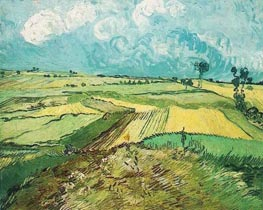 Vincent van Gogh | Wheat Fields at Auvers Under Clouded Sky, July 1890 | Giclée Canvas Print