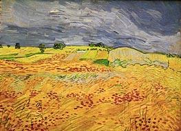 Vincent van Gogh | Plain at Auvers, July 1890 | Giclée Canvas Print