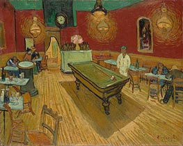 Vincent van Gogh | The Night Cafe in the Place Lamartine in Arles, 1888 | Giclée Canvas Print