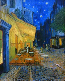 Vincent van Gogh | The Cafe Terrace on the Place du Forum, Arles, 1888 | Giclée Canvas Print