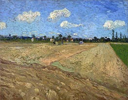 Vincent van Gogh | The Plowed Field, 1888 | Giclée Canvas Print