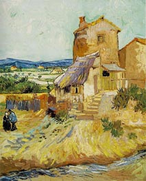 Vincent van Gogh | The Old Mill, 1888 | Giclée Canvas Print