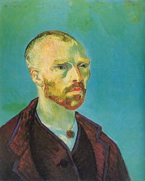 Vincent van Gogh | Self-Portrait (Dedicated to Paul Gauguin), September | Giclée Canvas Print