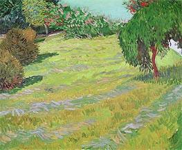 Vincent van Gogh | Sunny Lawn in a Public Park, 1888 | Giclée Canvas Print