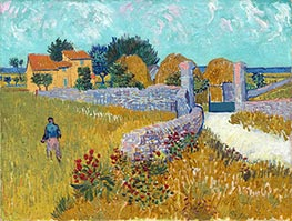 Vincent van Gogh | Farmhouse in Provence, 1888 | Giclée Canvas Print