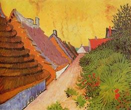 Vincent van Gogh | Street in Saintes-Maries | Giclée Canvas Print