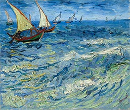 Vincent van Gogh | Seascape at Saintes-Maries | Giclée Canvas Print