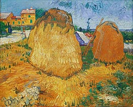 Vincent van Gogh | Haystacks in Provence | Giclée Canvas Print