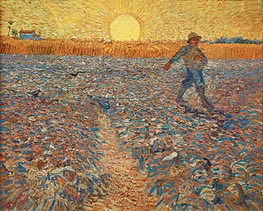 Vincent van Gogh | The Sower | Giclée Canvas Print