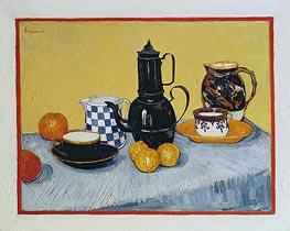 Vincent van Gogh | Blue Enamel Coffeepot, Earthenware and Fruit, 1888 | Giclée Canvas Print