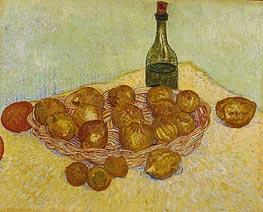 Vincent van Gogh | Still Life: Bottle, Lemons and Oranges, 1888 | Giclée Canvas Print