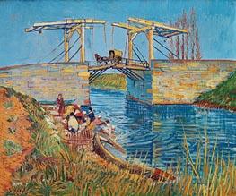 Vincent van Gogh | The Langlois Bridge at Arles with Women Washing, 1888 | Giclée Canvas Print
