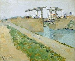 Vincent van Gogh | The Langlois Bridge at Arles with Road Alongside, 1888 | Giclée Canvas Print
