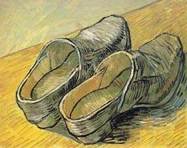 Vincent van Gogh | A Pair of Leather Clogs, 1889 | Giclée Canvas Print