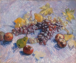 Vincent van Gogh | Still Life with Grapes, Apples, Pears and Lemons | Giclée Canvas Print