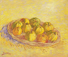 Vincent van Gogh | Still Life with Basket of Apples | Giclée Canvas Print