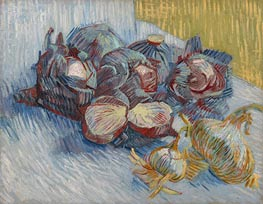 Vincent van Gogh | Still Life with Red Cabbages and Onions | Giclée Canvas Print