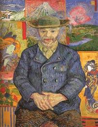 Vincent van Gogh | Portrait of Pere Tanguy, 1887 | Giclée Canvas Print