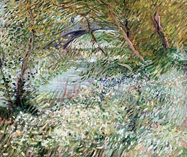Vincent van Gogh | Banks of the Seine with Pont de Clichy in Spring | Giclée Canvas Print