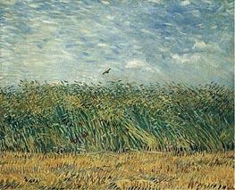 Vincent van Gogh | Wheat Field with a Lark, 1887 | Giclée Canvas Print