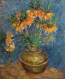 Vincent van Gogh | Crown Imperial Fritillaries in a Copper Vase | Giclée Canvas Print