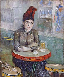 Vincent van Gogh | Agostina Segatori Sitting in the Cafe du Tambourin | Giclée Canvas Print