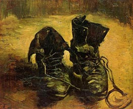 Vincent van Gogh | A Pair of Shoes, 1886 | Giclée Canvas Print