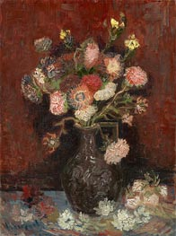 Vincent van Gogh | Vase with Asters and Phlox, 1886 | Giclée Canvas Print