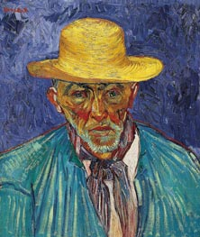 Vincent van Gogh | Portrait of a Peasant (Patience Escalier) | Giclée Canvas Print