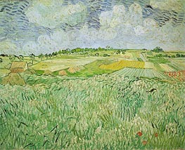 Vincent van Gogh | The Plain at Auvers | Giclée Canvas Print