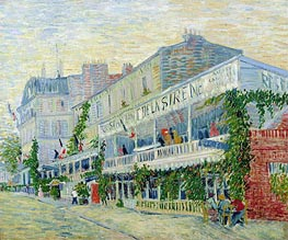 Vincent van Gogh | Restaurant de la Sirene at Asnieres | Giclée Canvas Print