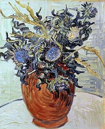 Vincent van Gogh | Still Life with Thistles, 1890 | Giclée Canvas Print
