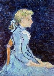 Vincent van Gogh | Portrait of Adeline Ravoux, 1890 | Giclée Canvas Print