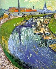 Vincent van Gogh | La Roubine du Roi, 1888 | Giclée Canvas Print