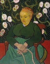 Vincent van Gogh | La Berceuse (Woman Rocking a Cradle), 1889 | Giclée Canvas Print