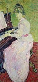 Vincent van Gogh | Marguerite Gachet at the Piano, 1890 | Giclée Canvas Print