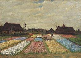 Vincent van Gogh | Flower Beds in Holland, c.1883 | Giclée Canvas Print