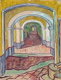 Vincent van Gogh | Corridor in the Asylum, 1889 | Giclée Canvas Print