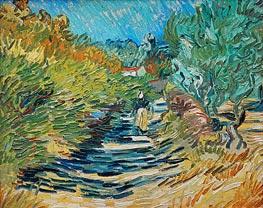 Vincent van Gogh | The Road to Saint-Remy | Giclée Canvas Print