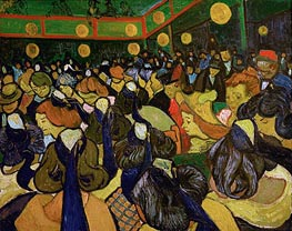 Vincent van Gogh | The Dance Hall at Arles (Ball in Arles) | Giclée Canvas Print