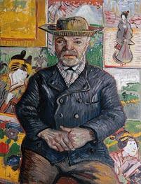 Vincent van Gogh | Portrait of Father Tanguy | Giclée Canvas Print
