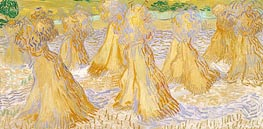 Vincent van Gogh | Sheaves of Wheat, 1890 | Giclée Canvas Print