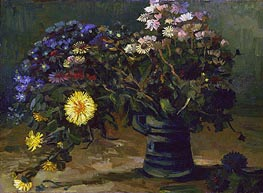 Still Life with a Bouquet of Daisies, 1886 by Vincent van Gogh | Giclée Canvas Print