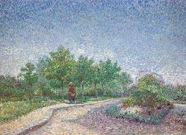 Vincent van Gogh | Corner in Voyer-d'Argenson Park at Asnières, 1887 | Giclée Canvas Print