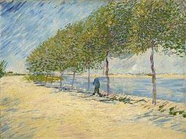 Vincent van Gogh | Along the Seine, 1887 | Giclée Canvas Print