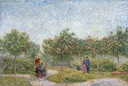 Vincent van Gogh | Garden with Courting Couples: Square Saint-Pierre, 1887 | Giclée Canvas Print