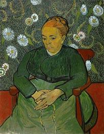 Vincent van Gogh | La Berceuse (Portrait of Madame Roulin), c.1888/89 | Giclée Canvas Print