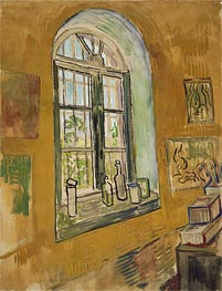 Vincent van Gogh | Window in the Studio, 1889 | Giclée Canvas Print
