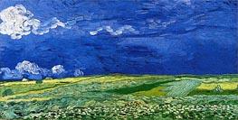 Vincent van Gogh | Wheatfields under Thunderclouds, 1890 | Giclée Canvas Print